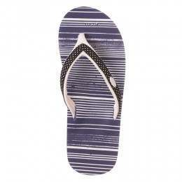 Animal Swish Slim AOP Sandals Sailor Blue