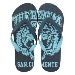 REALM EL TIGER FLIP FLOP SANDALS Blue