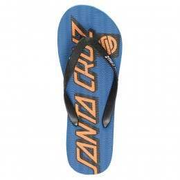 SANTA CRUZ STRIP FLIP FLOP SANDALS Blue