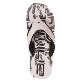 Animal Jekyl Logo Sandals White