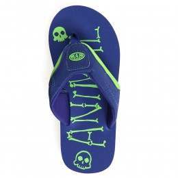 Animal Boys Jekyl AOP Sandals Clematis Blue