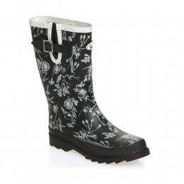 Animal Lolah Wellington Boots Black