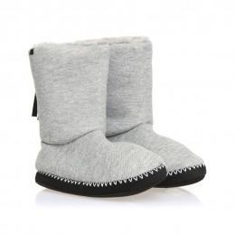 Animal Bollo Slipper Boots Grungy Grey