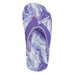 Animal Girls Swish AOP Sandals Iris Blue