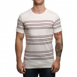 Globe Moonshine Tee Off White Stripes