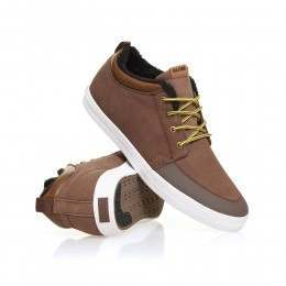Globe Chukka Mid Top Shoes Cocoa/Fur