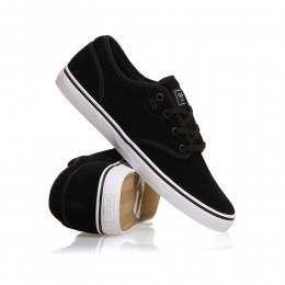 Globe Motley Shoes Black Suede