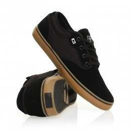 Globe Motley Shoes Black/Black/Gum