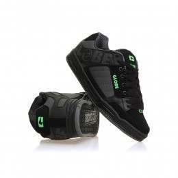 Globe Tilt Shoes Black/Camo/Moto Green