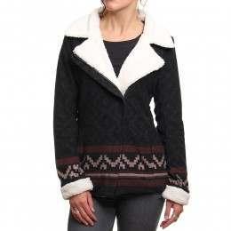 Ripcurl Arica Fleece Jacket Black Marle