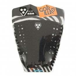 Gorilla Grip Phat Three Surfboard Deck Black
