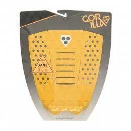Gorilla Grip The Jane Mustard Surfboard Deck Pad