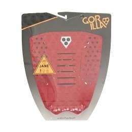 Gorilla Grip The Jane Dust Red Surfboard Deck Pad