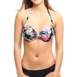 Ripcurl Paradiso Underwire D Cup Bikini Top Black