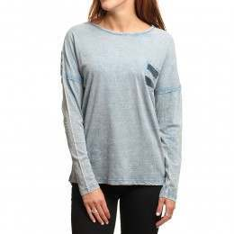 Ripcurl Bidea Long Sleeve Top Provincial Blue