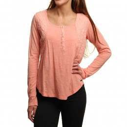 Ripcurl Algarrobo Long Sleeve Top Peach Amber