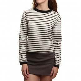 Ripcurl Coast Of Maine L/S Top Crystal Gray