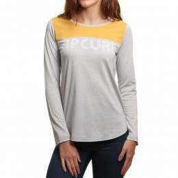 Ripcurl Delano Long Sleeve Top Cement Marle