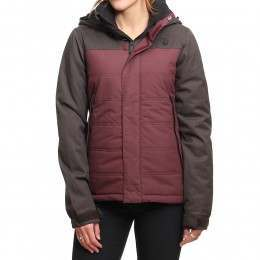 Volcom Vaycay Snow Jacket Burgundy
