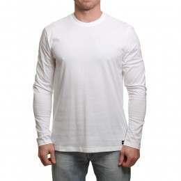 Element Basic Crew Long Sleeve Top Optic White