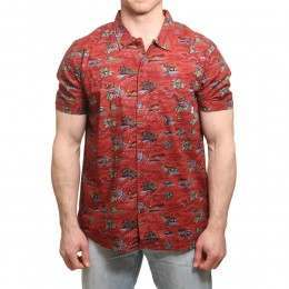 Element Wendel Shirt River Rats Red