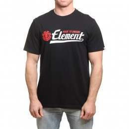 Element Signature Tee Flint Black
