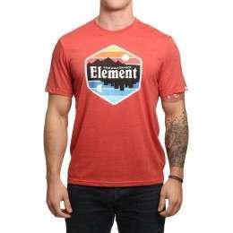 Element Dusk Tee Aurora Red