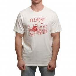 Element River Dreams Tee Bone White
