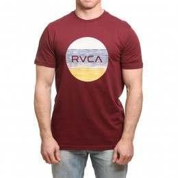 RVCA Motors Standard Tee Tawny Port