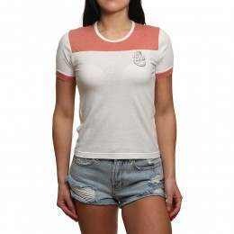 RVCA Safe Harbor Tee Red Clay
