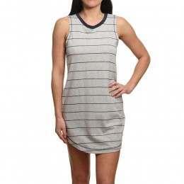RVCA Byrdie Dress Grey Heather