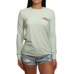 Billabong High Tide Long Sleeve Top Aloe