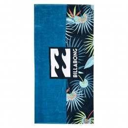 Billabong Waves Beach Towel Blue