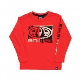 Animal Infants Board L/S Top Rio Red