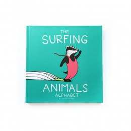 Jonas Claesson Surfing Animals Alphabet Book