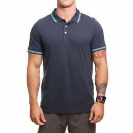 Animal Pique Polo Shirt Total Eclipse Navy