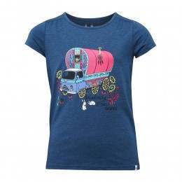 Animal Girls Betsy Bus Tee Ink Blue