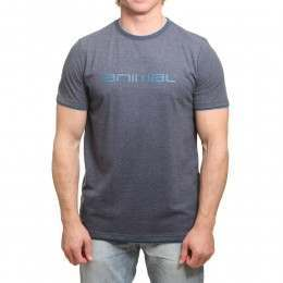 Animal Loan Tee Dark Navy Marl