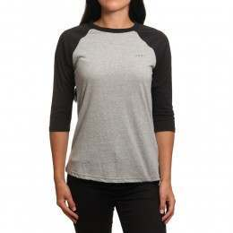Animal Urban Long Sleeve Top Grey Marl