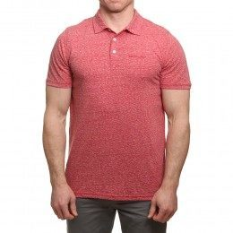 Animal Sonny Polo Shirt Rich Red Marl