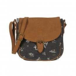 Animal Cori X-Body Bag Asphalt Grey