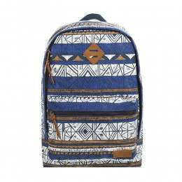Animal Burst Backpack Clematis Blue