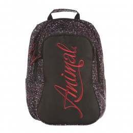 Animal Bright Backpack Bordeaux Red