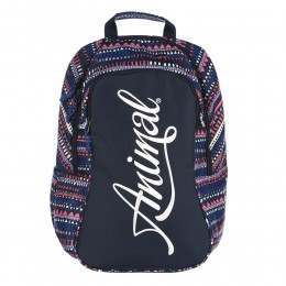 Animal Bright Backpack Dark Navy