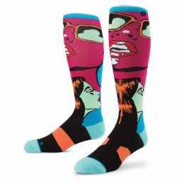 Stance Icona Snow Socks Blue