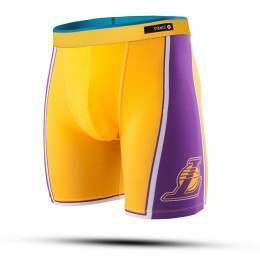 Stance NBA Lakers Boxers Yellow