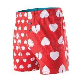 Stance Faded Hearts Boxers Red