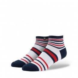 Stance Meridian Mid Socks White