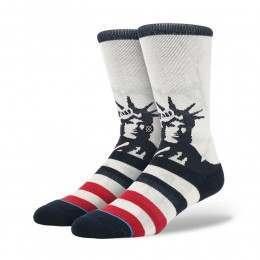 Stance Lady Liberty Socks White