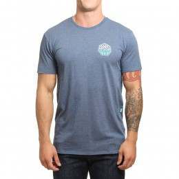Vissla Campaign Tee Strong Blue Heather